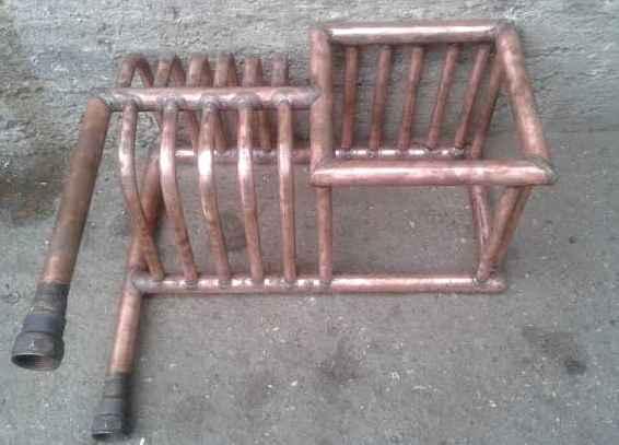 Гофрированная труба для теплообменника в баню что такое гидрофильное покрытие теплообменника в кондиционерах