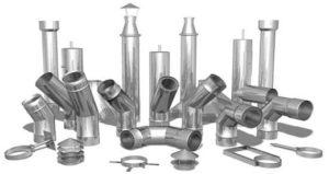Металлические трубы для банных печей