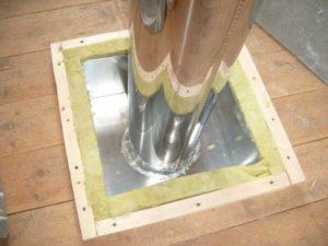 Как изолировать трубу в бане: чем обмотать и обезопасить металлическую трубу дымохода, изоляция от потолка, как сделать в сауне, чем обернуть или обложить, фото и видео