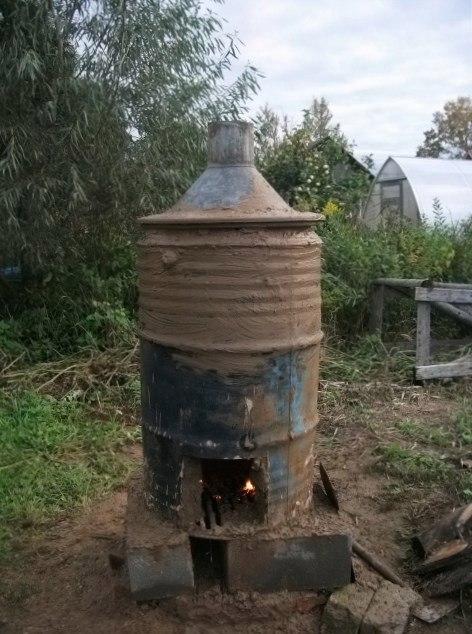 печь для обжига глины своими руками из кирпича