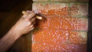 Можно ли покрасить печь водоэмульсионной краской