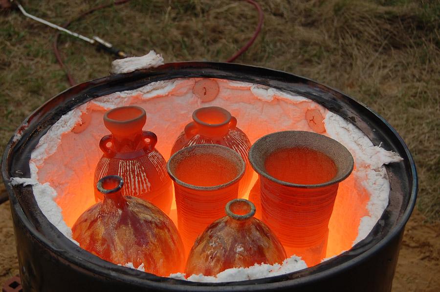 Как сделать печь для обжига 34