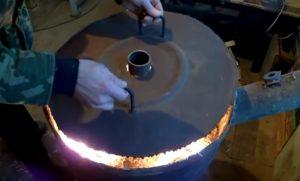 Эффективная печь для теплицы