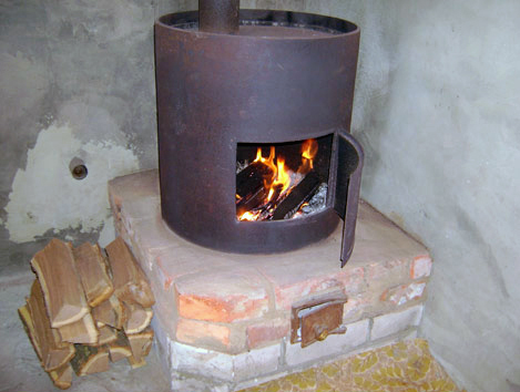 Железную печь в гараж цена купить гараж в красносельском районе спб
