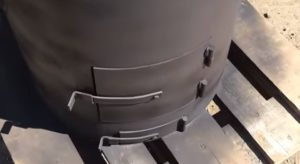 Печь для бани из трубы 530 — Канализация